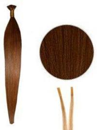 Auburn Straight Stick/I Tip Hair Extensions