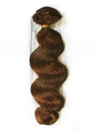 Auburn Wavy Good Remy Human Hair Tape In Hair Extensions