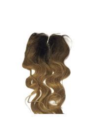 Stylish Black Long Wavy Lace Closures
