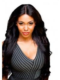 Comfortable Black Long Straight Lace Closures