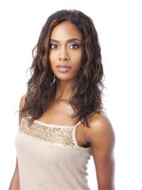 Full Lace Front Wigs Human Hair With Indian Remy Auburn Color Wavy Style