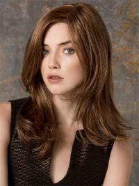 Long Straight Without Bangs Great Auburn Lace Front Wigs