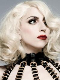 """14"""" Synthetic Capless Layered Curly Shoulder Lady Gaga Wigs"""