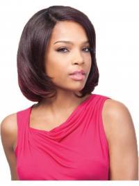 Beautiful Auburn Chin Length Straight U Part Wigs