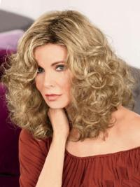 "Shoulder Length Curly Without Bangs Full Lace Brown Online 14"" Jaclyn Smith Wigs"
