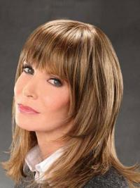 """Shoulder Length Straight Bobs Lace Front Brown Exquisite 14"""" Jaclyn Smith Wigs"""