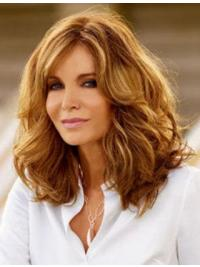 "Shoulder Length Wavy Layered Full Lace Brown Perfect 16"" Jaclyn Smith Wigs"
