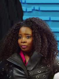 """Auburn Shoulder Length Curly Lace Front Flexibility 16"""" Kim Kimble Wigs"""