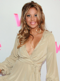 Capless Without Bangs Wavy Long Blonde Hairstyles Toni Braxton Wigs