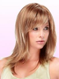 Synthetic Hair Sale With Capless Straight Style Shoulder Length Layered Cut
