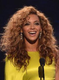 Brazilian Auburn Capless Long Kinky Layered Beyonce Afro Wig