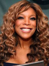 """Without Bangs Curly Blonde 18"""" Best Wendy Williams Wigs"""
