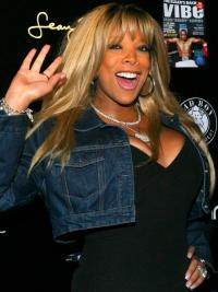 Wendy Williams Wig With Bangs Blonde Color Long Length