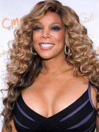 """Without Bangs Curly Blonde 22"""" Best Wendy Williams Wigs"""