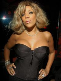 Wendy Williams Show Wigs Blonde Color Wavy Style Bobs Cut