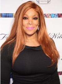 "Without Bangs Straight Blonde 20"" Good Wendy Williams Wigs"
