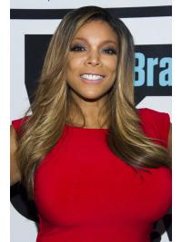 """Layered Straight Blonde 22"""" Cheap Wendy Williams Wigs"""