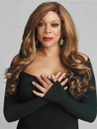 """Without Bangs Wavy Blonde 24"""" Designed Wendy Williams Wigs"""