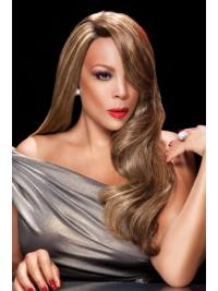 "Without Bangs Wavy Blonde 24"" Flexibility Wendy Williams Wigs"