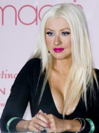 """Lace Front Without Bangs Long Straight 18"""" Trendy Fashion Wigs"""